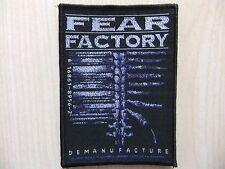 Aufnäher - Patch - Fear Factory - Demanufacture - Prong - Sepultura - Clawfinger