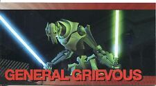 Star Wars Clone Wars Widevision Foil Character Chase Card #6