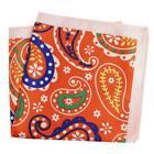 Newest 33CM Mans Paisley Flower Pocket Square Hankies Chest Towel Handkerchief