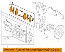 MAZDA OEM 14-17 6 Brake-Front Pads G4YA3328ZA