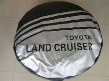 NEW Wheel Spare Tire Cover 16inch Fit For LAND CRUISER Size L PU Leather