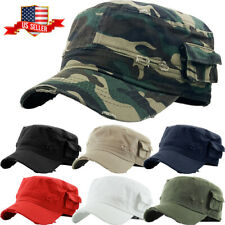 Military Hat Army Cadet Patrol Castro Cap Men Women Golf Driving Summer Castro