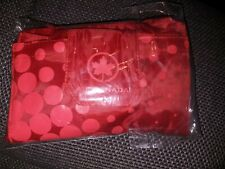 Air Canada Overnight Kit Amenity Kit Übernachtungstasche * Neu* Rot