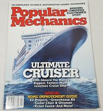 Popular Mechanics Magazine Back Issue April 2004 Ultimate Cruiser