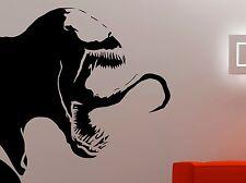 Venom Wall Decal Vinyl Sticker Comics Superhero Art Boys Room Bedroom Decor 9vzz