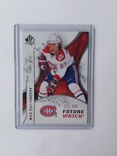 Max Pacioretty Future Watch Sp Authentic #211/999 Rookie rc 2008 2009