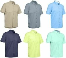 Under Armour Tide Chaser Short Sleeve Fishing Shirt 1351123 All Colors