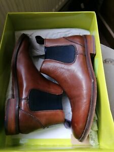 Ted Baker Camroon Men's Chelsea Boots Tan Brown Colour  Size 7 UK/ 41 EUR