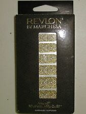 REVLON by MARCHESA 3D JEWELED NAIL APPLIQUES GILDED MOSAIC
