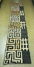 TRIBAL ART, AFRICAN ART KUBA CLOTH
