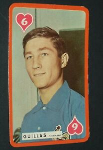 FOOTBALL CARTE MIROIR SPRINT 1959-1960 ROLAND GUILLAS GIRONDINS BORDEAUX ASSE