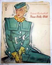 Rivista (S) - Beyer 's costumi foglio signora popolo mondo fascicolo 23/1935