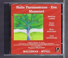 MASSENET CD NEW SUITE PARNASSIENNE /EVE/ THIERRY PELICANT