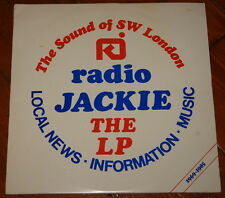 RADIO JACKIE ~ THE SOUND OF SOUTH WEST LONDON 1969-1985 ~ RARE VINYL LP RECORD
