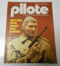 PILOTE French Comic Cartoon Magazine #747 FVF 52 pgs COLOR Oversized