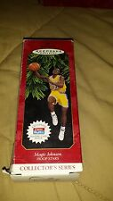 HALLMARK KEEPSAKE ORNAMENT MAGIC JOHNSON 1997 HOOPS STARS BOX CARD SCOREBOARD
