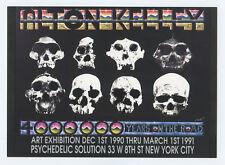 Alton Kelley Exhibition 1990 Mar 1 Psychedelic Solution Gallery Postcard