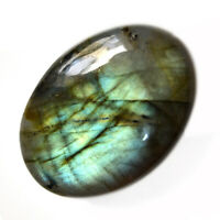 Cts. 80.05 Natural Full Fire Multi Labradorite Oval Cabochon Loose Gemstone