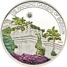 Hanging Gardens of Babylon, 2013, 5$, Silber, Palau, 7 Weltwunder,