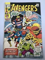 The Avengers #88 (1971) 1st Appearance of Psyklop Marvel Comics