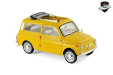 FIAT 500 GIARDINIERA 1968 - Voiture jaune Positano - 1/18 NOREV 187724