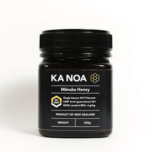 Premium New Zealand Manuka honey MGO 829+ antiseptic UMF® 20+ NPA 20+ 250g.