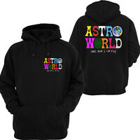4b27150279f TRAVIS SCOTT HOODY sweatshirt ASTROWORLD unisex tour off concert merch hip  hop