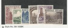 Norfolk Island, Postage Stamp, #13-18 Mint LH, 1953, JFZ