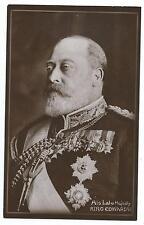 "ROYALTY - KING EDWARD VII ""His Late Majesty"" Davidson Bros. Real Photo Postcard"