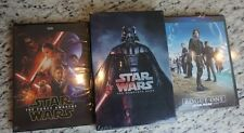 Star Wars The COMPLETE Saga 1-6 New DVD 1-7 Force Awakens ROGUE ONE 8 MOVIE SET!