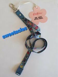 BNWT CATH KIDSTON LANYARD MR MEN LITTLE MISS DITSY DUSKY BLUE FREE P&P