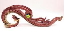 Curved Red Dragon Incense Holder