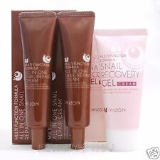 [MIZON] All In One Snail Repair Cream 35ml x 2ea + Snail Recovery Gel Cream 45ml