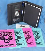 Last Vegas Romany Malco Screen Used Notebook with Flyers Movie Prop