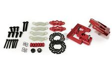 FID Racing Alloy Center Diff Mounts & Adjustable Calipers - For Losi DBXL - Red