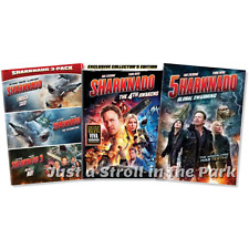 Sharknado: Complete Horror Comedy Movie Series 1 2 3 4 5 Box / DVD Set(s) NEW!