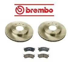Mazda Protege5 2002-2003 Front Left & Right Brake KIT Rotors & Pads Brembo/Bosch
