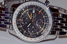 Mens Breitling Navitimer World GMT