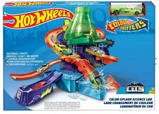 Hot Wheels Colour Shift Splash Science Lab Ages 4+ Race Track Car Play Cars Gift