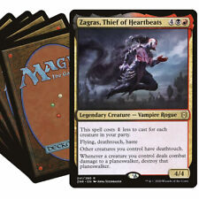 ZAGRAS Commander Deck MTG Black Red Magic the Gathering EDH Lot with Rares