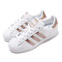 adidas Originals Superstar W White Copper Metalic Rose Gold Women Shoes EE7399
