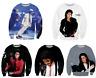 New 3D print Michael Jackson Casual Sweater Women/Men Sweatshirt Hoodies Pullove