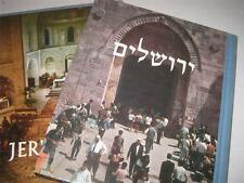 Je?rusalem, cite? biblique BEAUTIFUL COPY IN SLIPCASE French Photographs Israel
