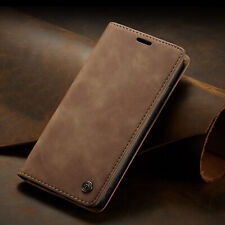 Magnetic Flip Retro Leather Wallet Stand Case Cover For iPhone XS Max 11 12 Mini