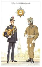 Postcard The British Army Series No.65 Royal Corps of Transport by Geoff White
