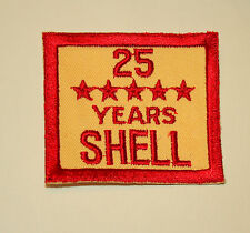 Shell Oil & Gas Employee Sleeve 25 Years of Service Emblem Patch New NOS 1950s