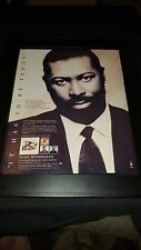 Teddy Pendergrass It Should've Been You Rare Original Promo Poster Ad Framed!