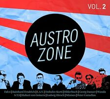 AUSTROZONE VOL,2 (ANDY BAUM, FALCO, ULLI BÄER,, WATERLOO&ROBINSON,,,,) 3 CD NEUF