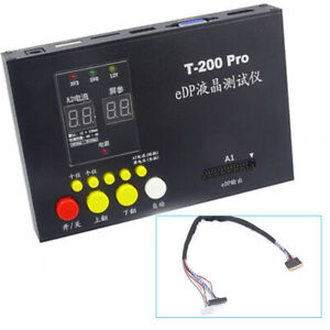 For LCD LED Screen Panel Testing Device Tester Equipment With 30Pin Cable