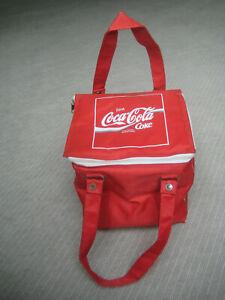 Coca Cola Kühlbox Tragetasche Thermo Box würfelförmig alt sammeln Werbung Reklam